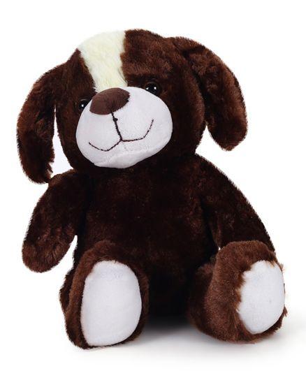 Starwalk Plush Dog Soft Toy Brown - 25 cm