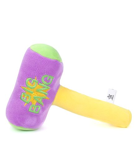 Starwalk Plush Big Bang Hammer Violet - 23 cm