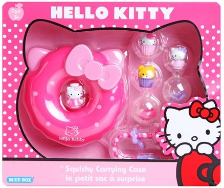 Hello Kitty - Squishy Donut Carry Case