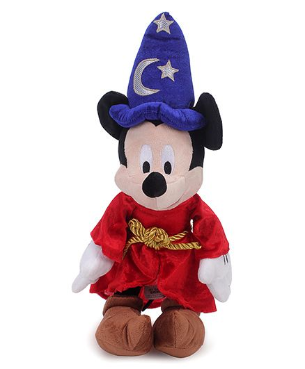 Disney Mickey Magician Toy Red Blue - 40 cm