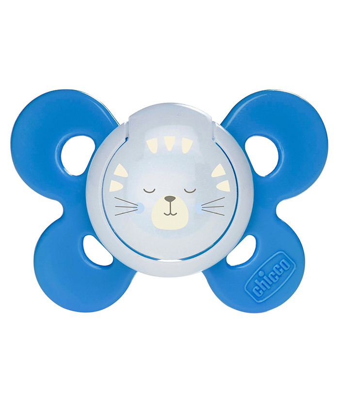Chicco Comfort Night Physio Orthodontic Soother - Orange