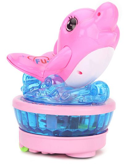 Playmate Musical Dolphin With Light Projection (Color May Vary)