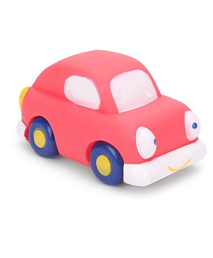 Mee Mee Car Shape Bath Toy - Red