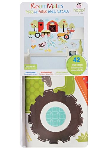 Peel And Stick Walls Decals - House & Wheels
