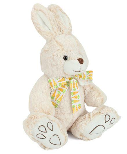 Starwalk Plush Rabbit Soft Toy Cream - 23 cm