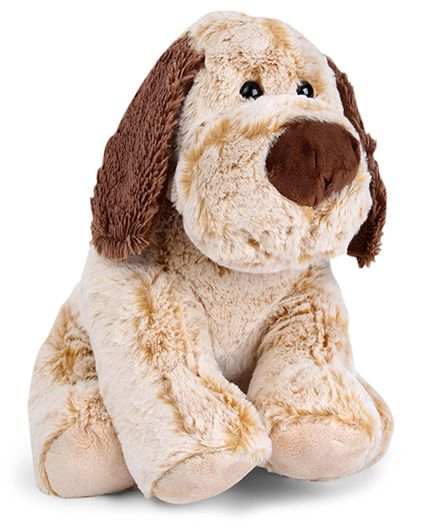 Starwalk Plush Dog Soft Toy Light Brown - 29 cm