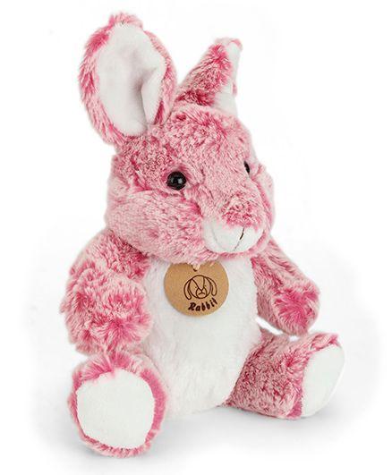 Starwalk Plush Rabbit Soft Toy Pink White - 20 cm