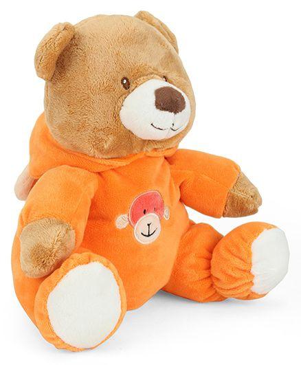 Starwalk Plush Bear Soft Toy Orange - 23 cm