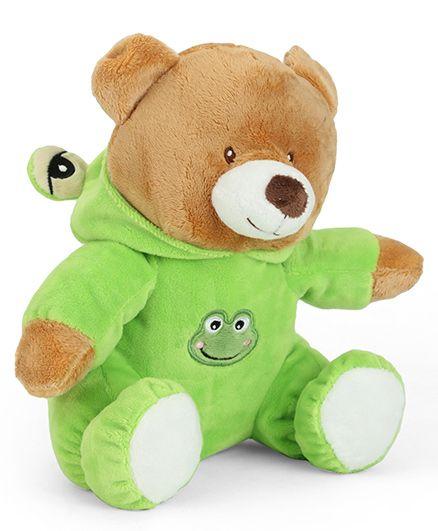 Starwalk Plush Bear Soft Toy Green - 23 cm