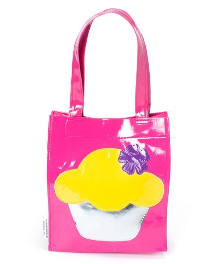 Lill Pumpkins Cupcake Small Tote - Pink