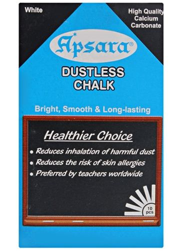 Apsara - Dustless White Chalk