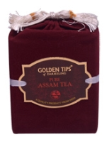 Golden TIps of Darjeeling - Pure Assam Tea with Velvet Pouch