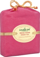 Golden Tips of Darjeeling Rose Herb Green Tea