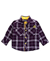Checks Shirt - Purple