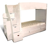 Woody Wood - Double Bunk Bed 
