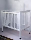 Woody Wood - White Mahogany Cot
