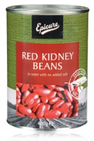 Epicure Red Kidney Beans in Water