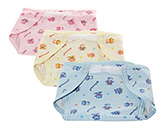 Buy Tinycare Baby Nappy Multicolor Small - Set of 3