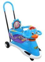 Duck Pattern Baby Swing Car
