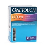 One Touch Ultra Test Strip Box