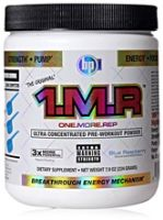 BPI 1.M.R. Pre-workout Powder  Blue Rasberry Flavour