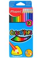 Maped  -  Color Peps Color Pencil Box of 12 colors for a fun drawing session