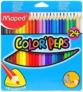 Maped  -  Color Peps Pencil Box Pack Of 24, Color Your Imagination