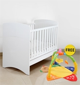 Vividha Multifunctional Iona Crib - White
