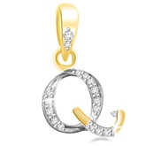 Eva Jewels - Beautiful 'Q' Shaped Pendant