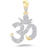 Eva Jewels - Beautiful 'Om' Shape Pendant