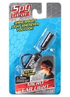 Spy Gear  -  Micro Ear Light 6 Years +, The ultimate spy set for snooping after d...