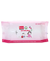 Morisons Baby Dreams White Baby Wipes