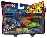 Disney Pixar Cars  -  Action Agents Acer & Rod Torque Redline 3 Years+, Launch into action with these action cars