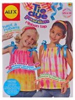 Alex - Tie Dye Fashion Ribbon Top