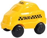 Viking Toys - Town And Country Taxi Yellow