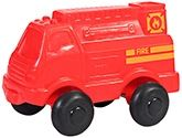 Viking Toys - Fire Town And Country Red