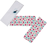 Kadambaby S3 Muslin Squares - Pink Bird 