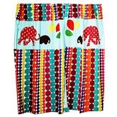Kadambaby - Elephant and Balloon Curtain