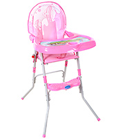 Buy Fab N Funky Baby High Chair - Pink