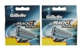 Gillette Mach3 - Turbo 8 Cartridges