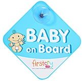 Fab N Funky - Baby on Board Blue