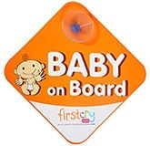 Fab N Funky - Baby On Board Orange