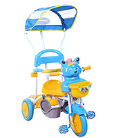 Buy Fab N Funky Musical Baby Tricycle with Canopy - Blue