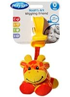 Playgro - Noah's Ark Wiggling Friend Giraffe