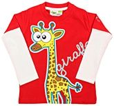 Grasshopper - Glow in Dark Full Sleeves T-Shirt with Giraffe Print