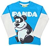 Grasshopper - Glow In Dark Full Sleeves T-Shirt With Panda Print
