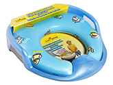 1st Step - Baby Cushion Potty Set Blue Color Cushion Potty Seat With Attractive Animal...