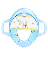 1st Step - Cushion Potty Seat With Handle Blue Color Cushion Potty With Attractive Animal Prin...