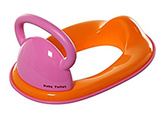 Fab N Funky Baby Toilet Seat with Handle Pink