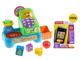 Fisher-Price Laugh & Learn Magic Scan Market with Free Gift